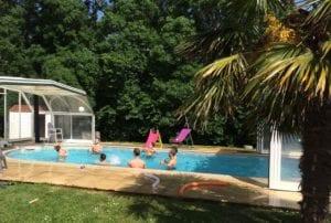 Piscine ouverte Résidence Romaric - Chauffé - Soleil - Résidence de vacances
